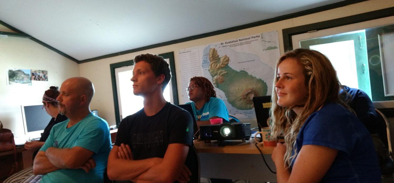 WWF-NL Reps Visit STENAPA