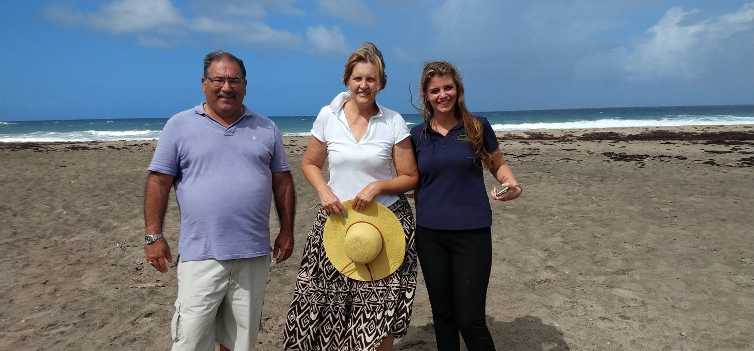 Nature Alliance pays informative Statia visit
