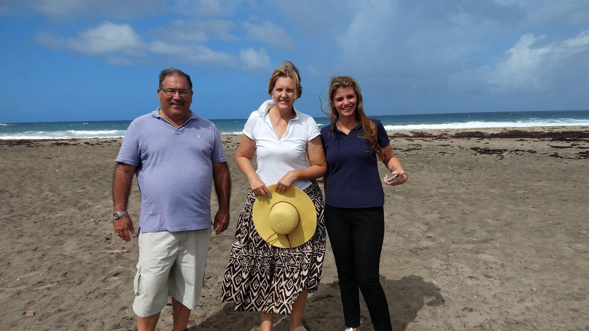 Nature Alliance pays informative Statia visit