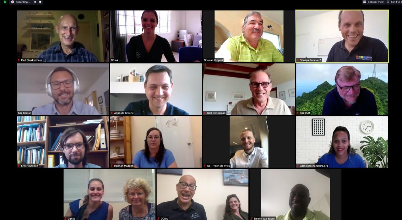 Dutch Caribbean Nature Alliance (DCNA)'s Board Meeting: